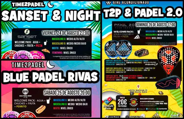 Torneos Time2Padel