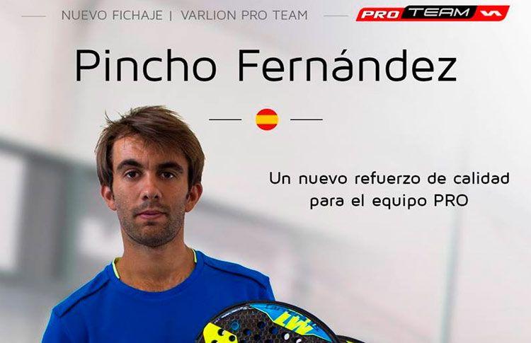 Pincho Fernández, suma de talento para el Varlion Team