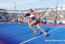 Agudizar los reflejos... Bea González, en acción en el Mijas Open
