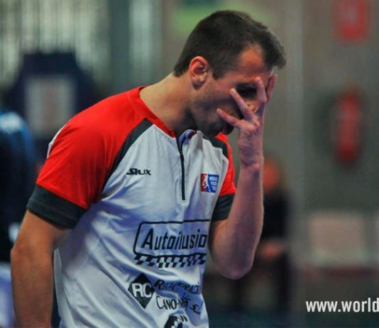 Víctor Ruiz no se recupera y será baja en el Cervezas Victoria Mijas Open
