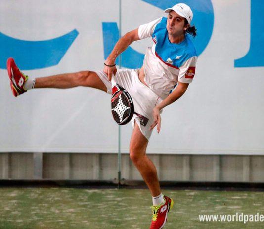 Lugo Open 2018: Adrián Blanco, en action