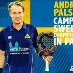 Vibor-A deja su huella en Suecia: Andreas Palsson, Campeón Nacional 2018