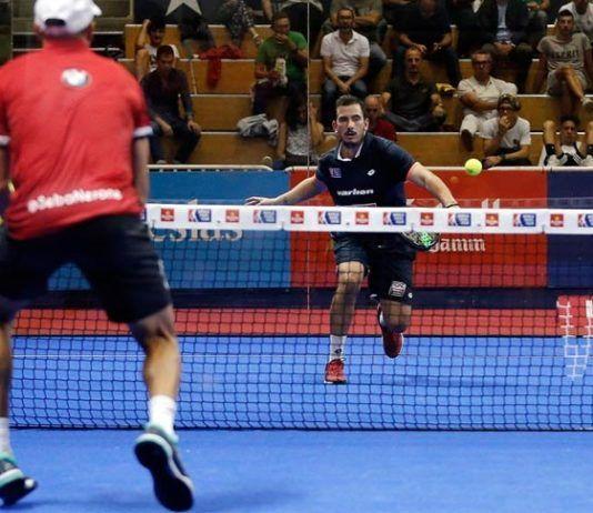 Lugo Open: Juan Cruz Belluati, en acción