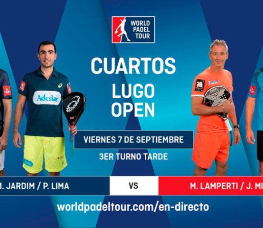 Lugo Open: Ordre des quarts de finale