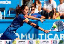 Oeiras Valley Portugal Padel Masters: Gemma Triay, en acción