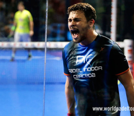 Lugo Open: Lucas Campagnolo, en acción