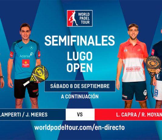 Lugo Open: Orden de Juego de Semifinales