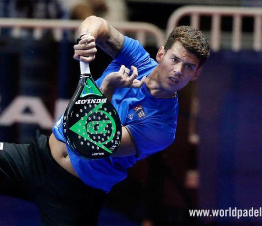 Lugo Open: Ramiro Moyano, en acción