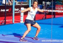 Madrid WOpen 2018: Patty Llaguno, in azione