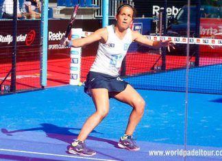 Madrid WOpen 2018: Patty Llaguno, en action