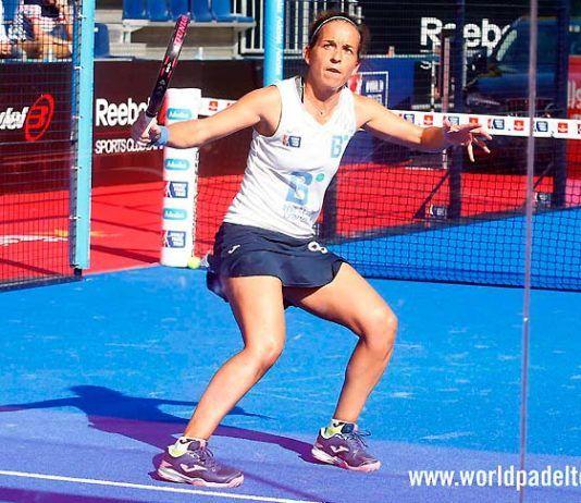 Madrid WOpen 2018: Patty Llaguno, in azione