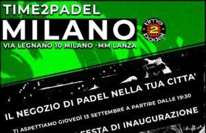 Time2Padel ya brilla con fuerza en pleno corazón de Milán
