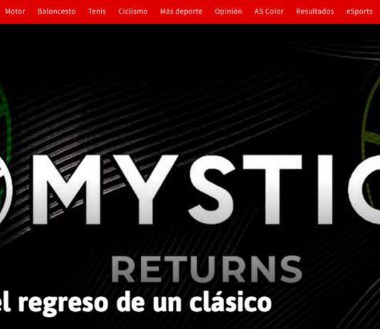 Mystica reconquista el Diario AS.