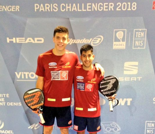 Chingotto y Tello en el Paris Challenger. | WPT