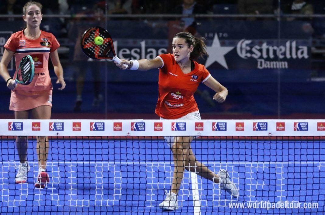 Marta Ortega y Ari Sánchez en el Bilbao Open. | WPT