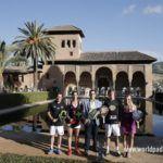 La presentación del Granada Open en la Alhambra.