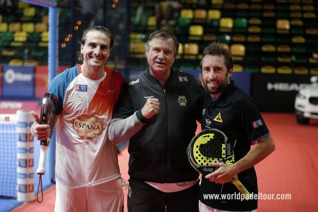 SIlingo e Grabiel no Bilbao Open.   WPT