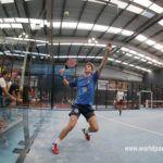 Miguel Yanguas en la preprevia del Granada Open.