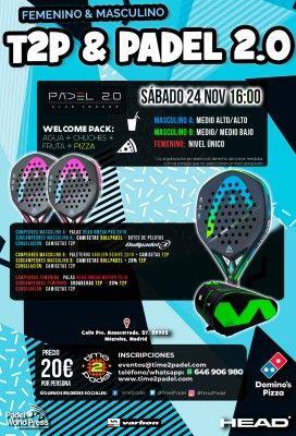 Torneos Time2Padel 24 de noviembre.