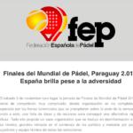 FEP Mundial.
