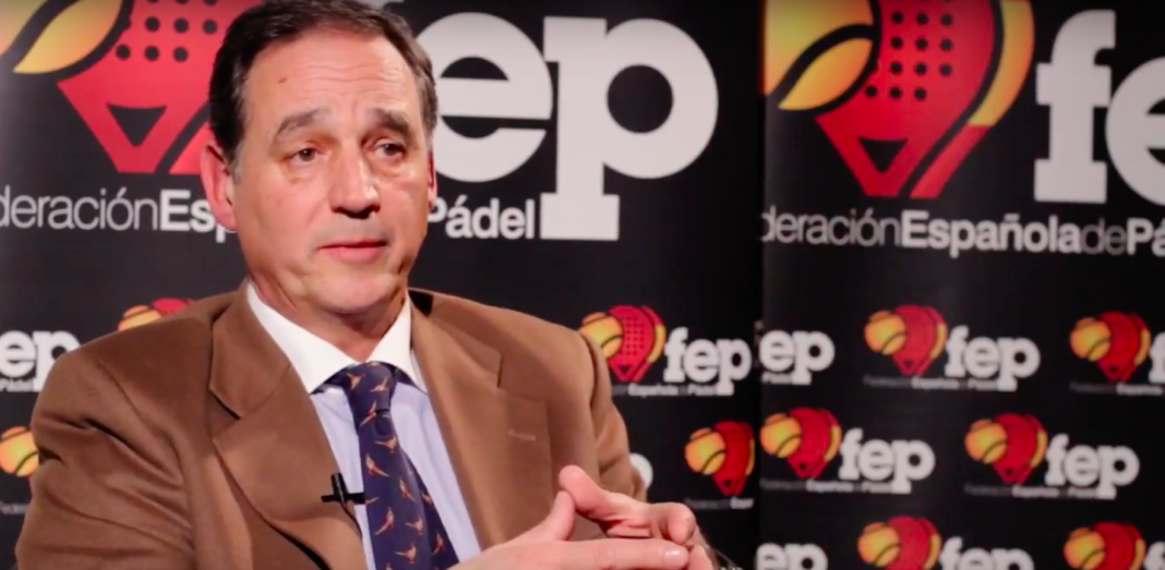Alfredo Garbisu, presidente de la FEP. | FEP