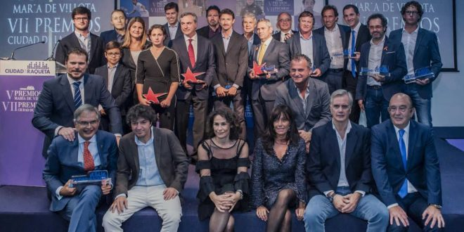 Premios Ciudad de la Raqueta.