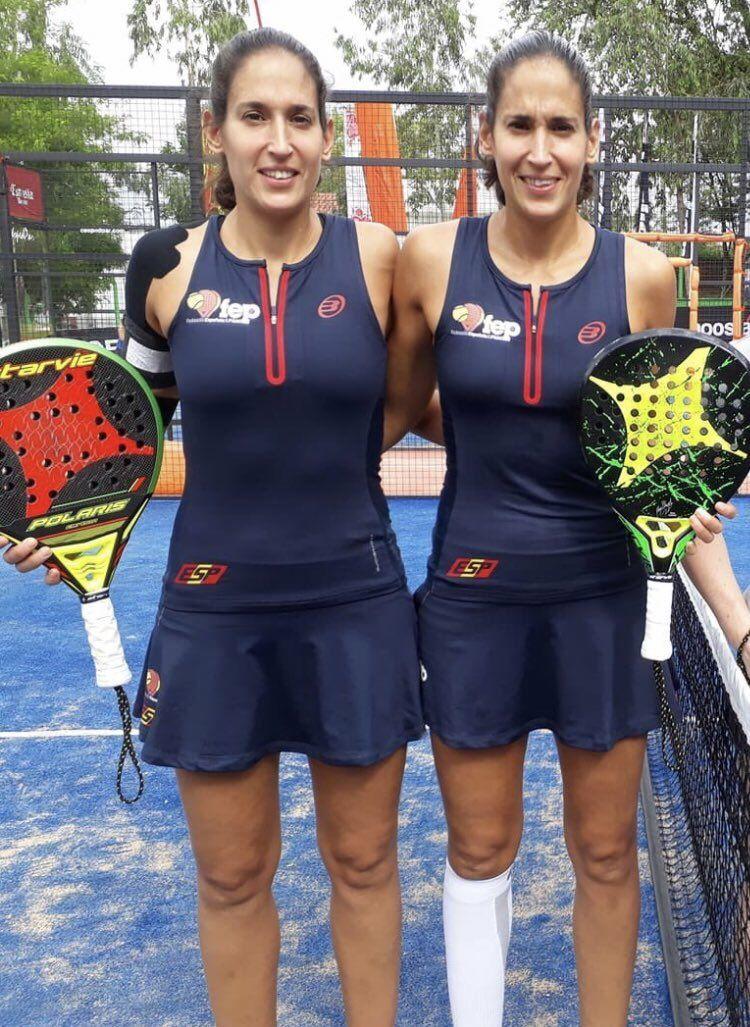 Mundial de Paraguay parejas femenino.