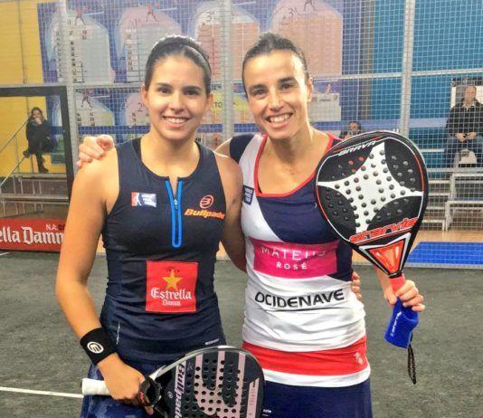 Brea e Nogueira nell'Arroyo de la Encomienda Challenger.