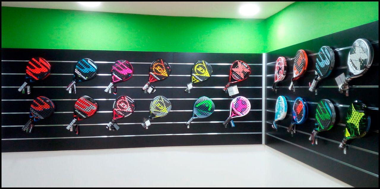 La nueva tienda Padelmanía en Barcelona.