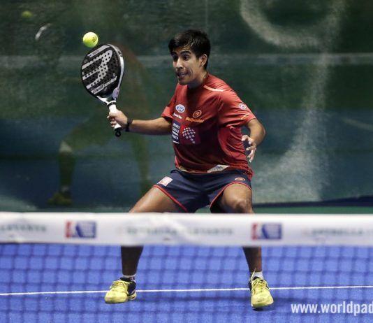 Fede Chingotto en el Murcia Open.