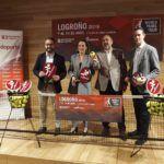 La presentación de la prueba de Logroño del World Padel Tour 2019.