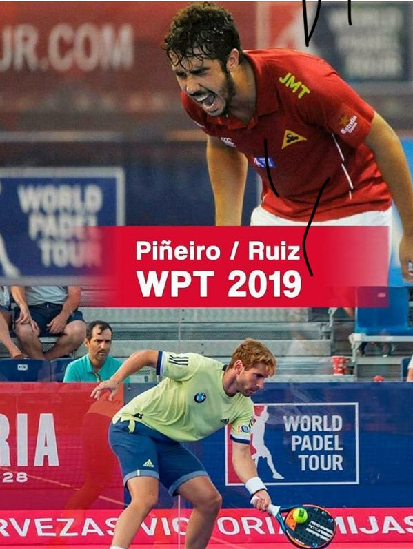 Ruiz y Piñeiro, nueva pareja para World Padel Tour 2019.