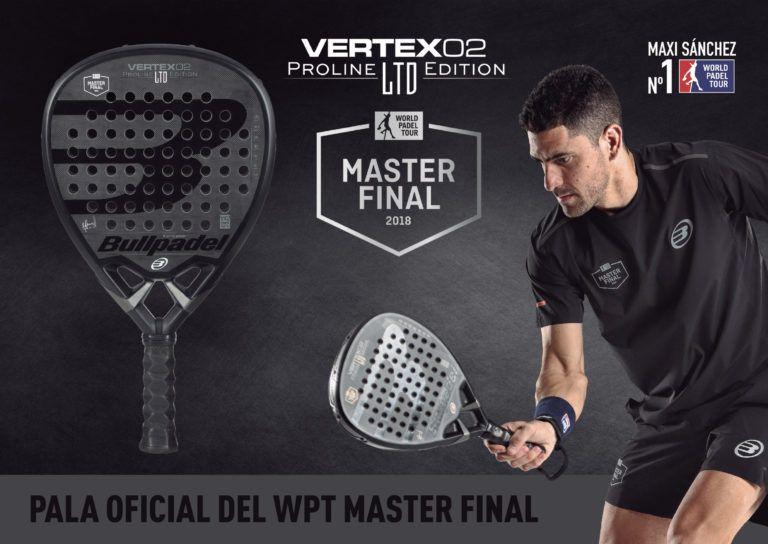 La Bullpadel Vertex Master Final LTD Edition.