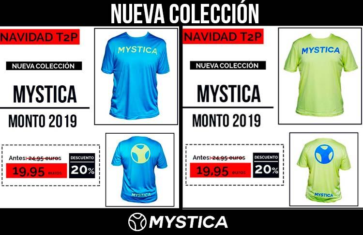 Las nuevas camisetas Mystica de 2019.