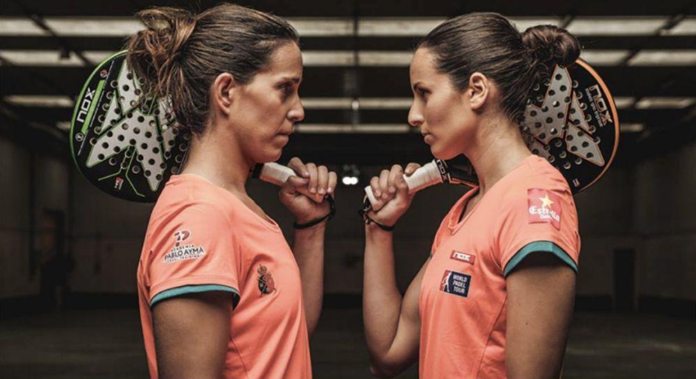 Gemma Triay y Lucía Sainz en una foto de archivo de Nox.