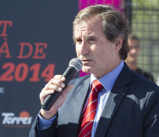 Pere Hernández, presidente de la Federación Catalana de Pádel.