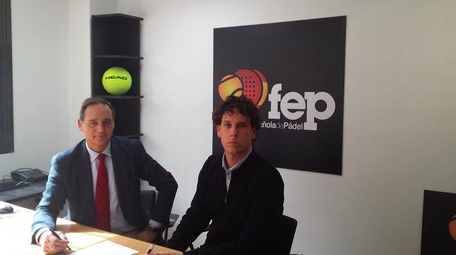 Head Padel, pelota oficial de la FEP.
