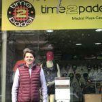 Miguel Ángel Varela, CEO del Grupo Time2Padel.
