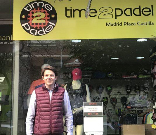 Miguel Ángel Varela, CEO del gruppo Time2Padel.