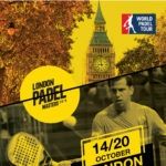 El póster del London Master del World Padel Tour.