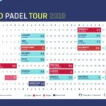 El calendario del World Padel Tour 2019.