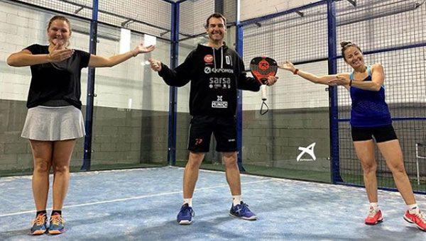 Osoro y Brito junto a Pablo Aymá. | Arko Sports