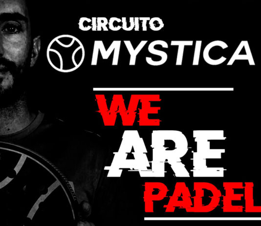 El cartel del Circuito Mystica.