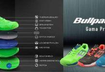 La nueva colección de zapatillas Bullpadel 2019.