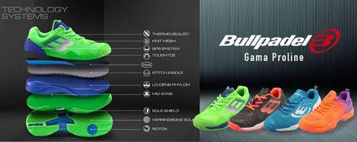 huge discount c12f4 a5a2b Bullpadel reinventa la sua collezione di scarpe da paddle ...