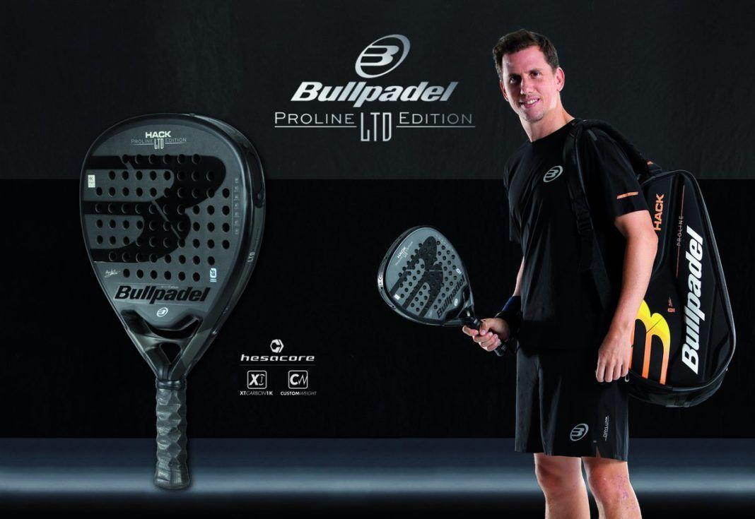 La Bullpadel Hack Limited Edition, la nueva pala de Paquito Navarro.