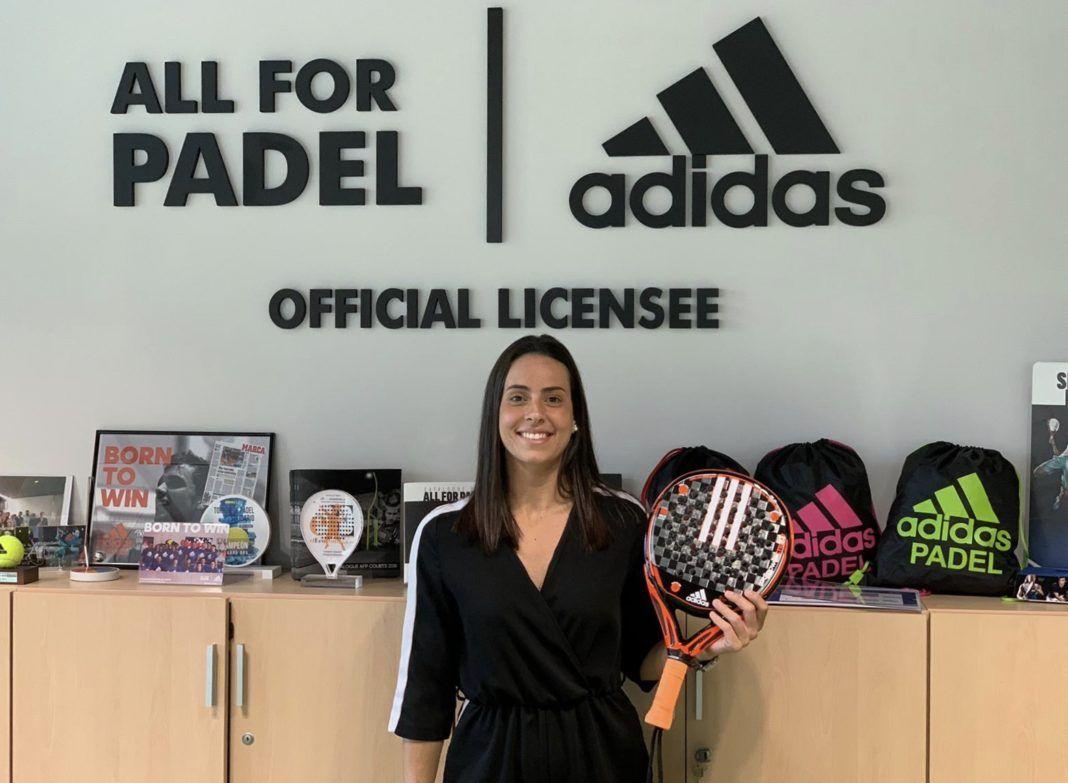 Sofía Araujo, joueur Adidas Padel.