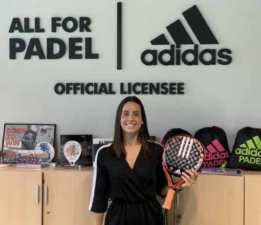 Sofía Araujo, jugadora Adidas Padel.