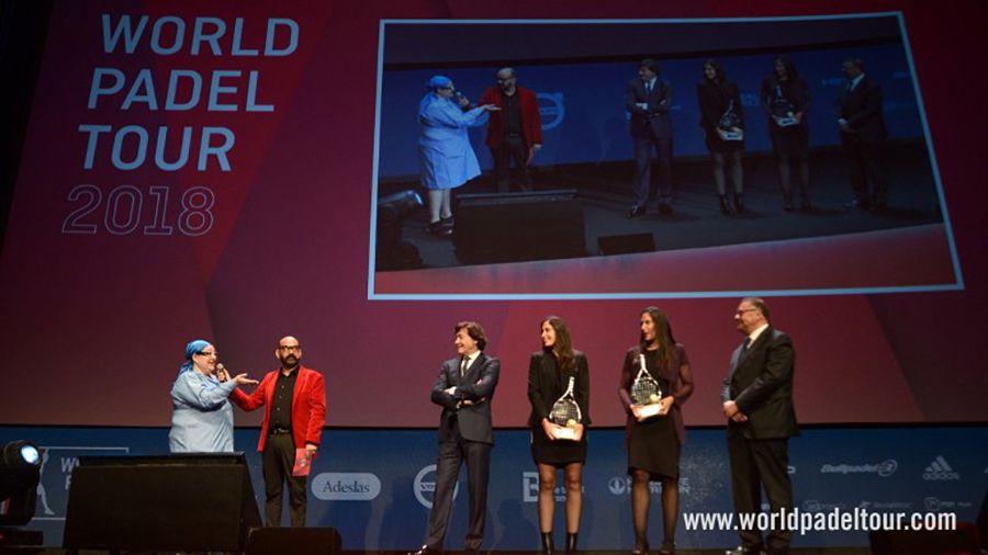 La presentación del World Padel Tour 2018.