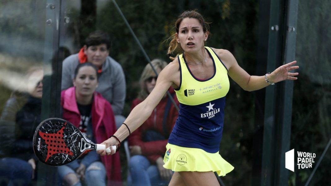 Lorena Alonso en el Marbella Master.